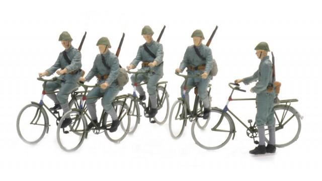 NL2020, NL fietsende soldaten 1940 (5x)