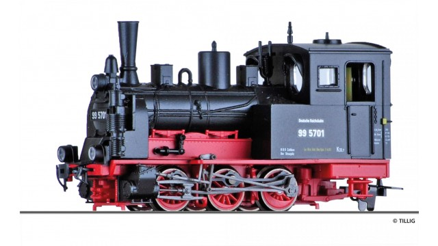 Dampflokomotive BR 99.57 DR