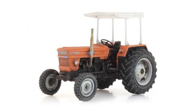 Fiat 750 special tractor met zonnedak
