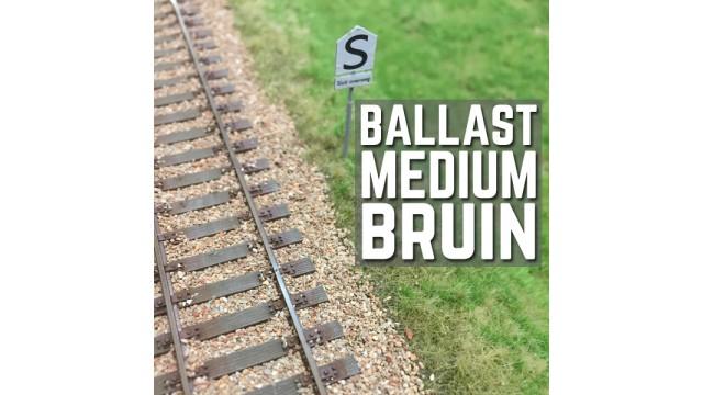 Ballast medium bruin H0 - 300 gram