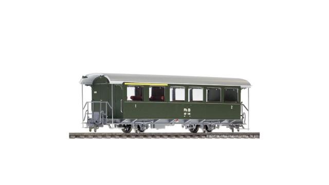 Uitloop - RhB AB 1418 Bernina-Zweiachser grün