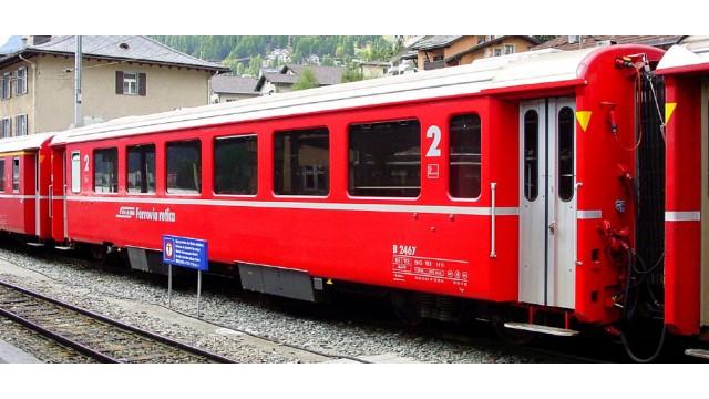 Zomer19, RhB B 2467 Einheitswagen III rot