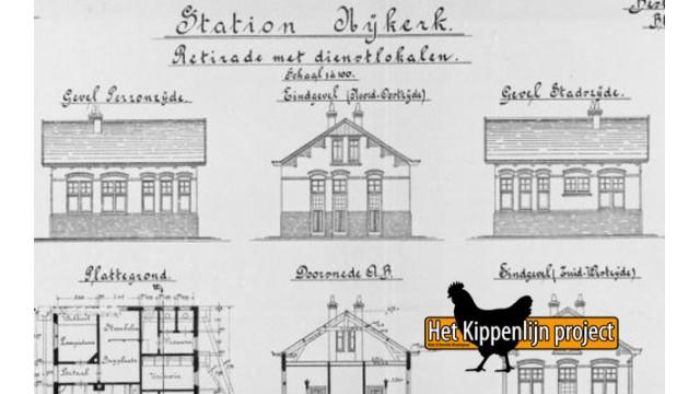 Exclusief: Nijkerk retirade / Stationschefwoning, NCSM, 1863