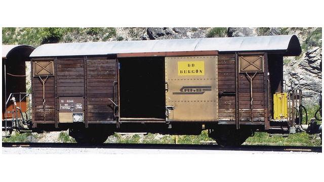 RhB Xk 9344 Bahndienstwagen