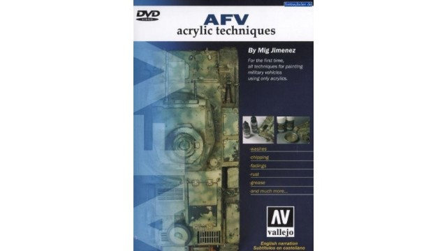 DVD Acrylic techniques