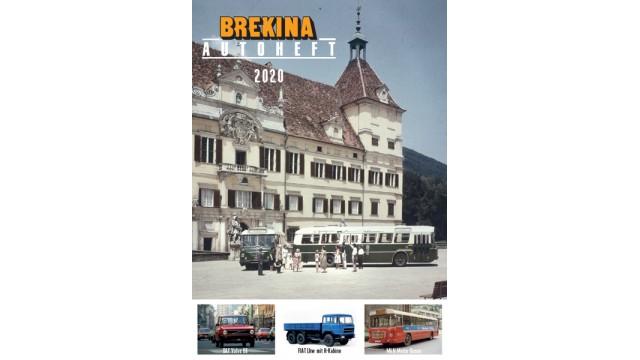 Zeitschrift BREKINA-Autoheft 2020