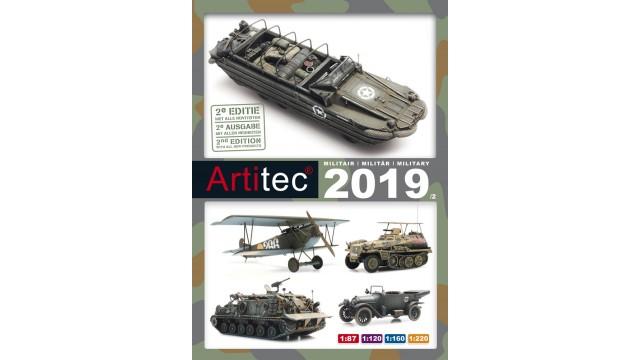 Uitloop Artitec Catalogus 2019 militair