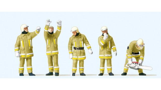 1:87 Brandweerlieden technische hulp