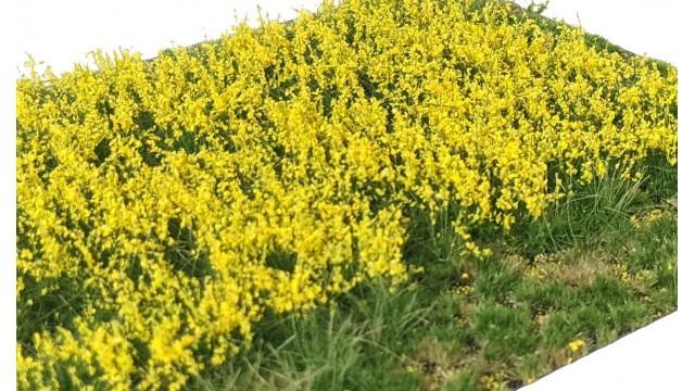 Gelaagde pollen Bloemen Geel - 15x21cm