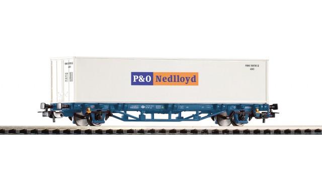 Uitloop -Containerwagen 1x40' Container Nedlloyd MAV, Ep. VI