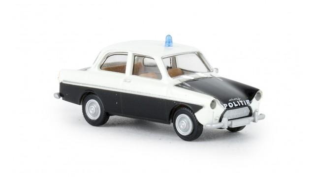 NL2020, DAF 600 weiss, schwarz,  Politie (NL) ,