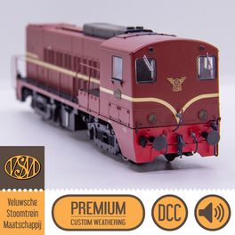 VSM 2299, DCC, Loksound - Premium Custom Weathering