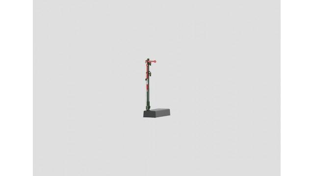 Uitvoeringssein met smalle mast