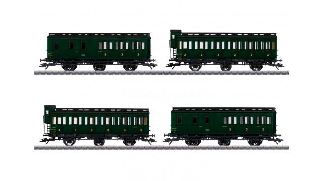 Abteilwagenset zur Serie 130