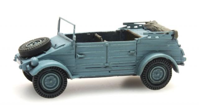 Kant-en-klaar, Kübelwagen VW 82 Blauw CIVIEL