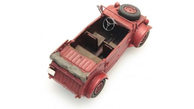 Kant-en-klaar, Kübelwagen VW 82 Rood CIVIEL