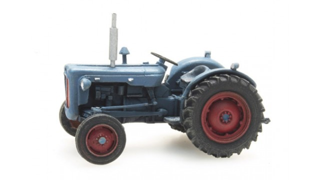 Tractor Ford blauw