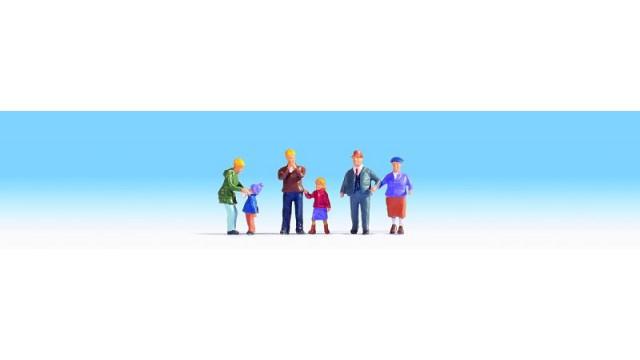 Familie Meier im Winter