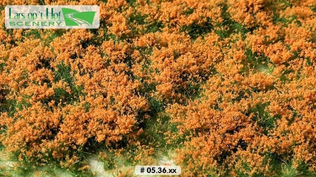 Bloemen oranje, 15 x 21 cm