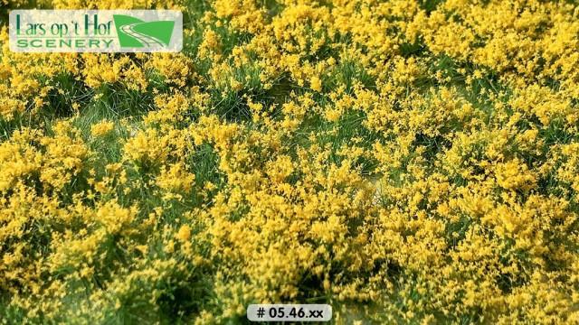 Bloemen geel, 15 x 21 cm