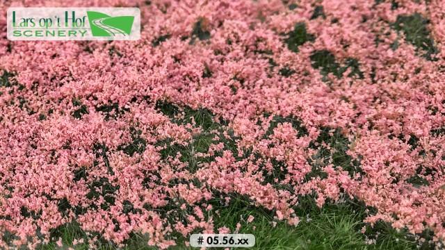 Bloemen lichtroze, 15 x 21 cm