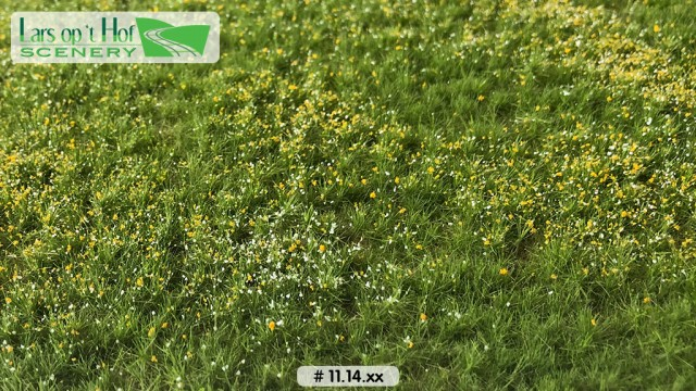 Bloemenweide lente, 38 x 58 cm