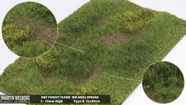 Forestfloor type A – mat 30*21 cm