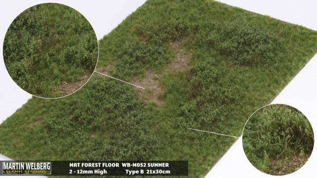Forestfloor type B – mat 30*21 cm