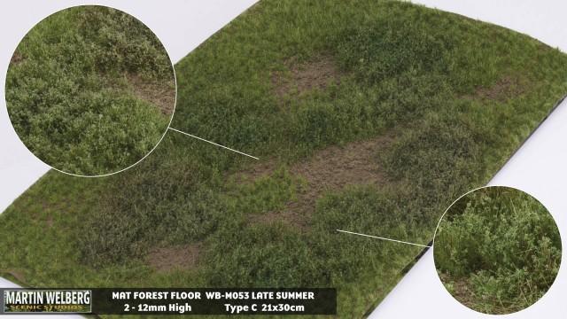 Forestfloor type C – mat 30*21 cm