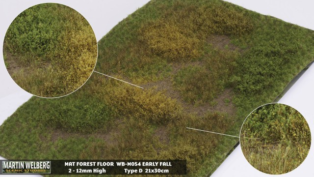 Forestfloor type D – mat 30*21 cm