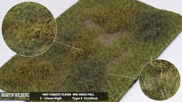 Forestfloor type E – mat 30*21 cm