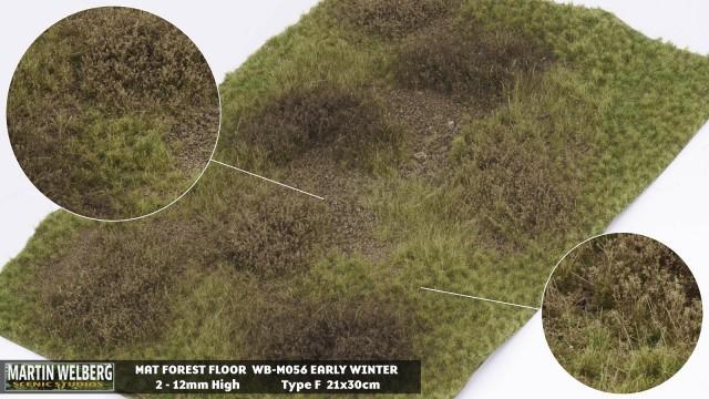 Forestfloor type F – mat 30*21 cm