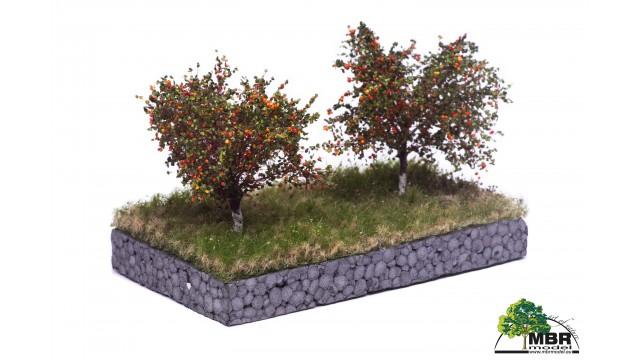 Appelboom, 7 cm, geschikt voor H0/TT