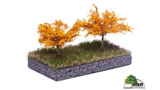 Appelboom, 7 cm, herfst, geschikt voor H0